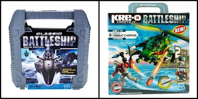 Classic Battleship Movie Edition KRE-O Combat Chopper