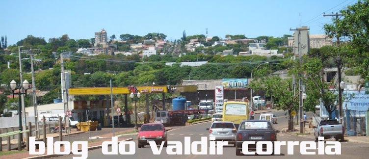 blog do  valdir correia