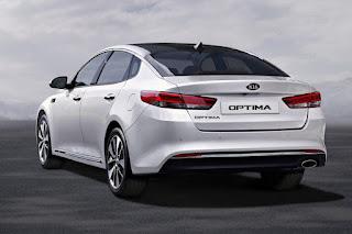 Kia Optima (2016) Rear Side