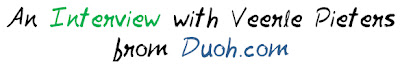 An Interview with Veerle Pieters of Duoh.com MohitChar