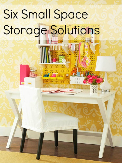 Storage solutions for small spaces for Small room solutions