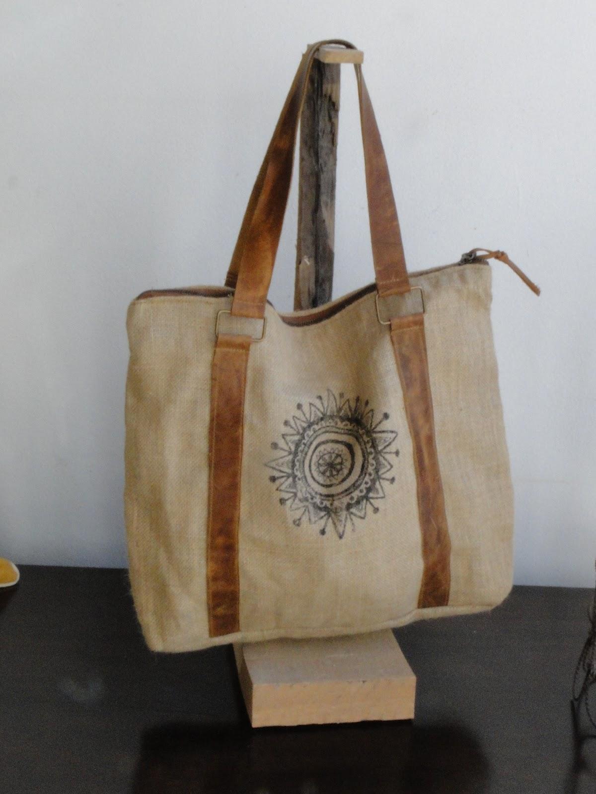 Estudio v sorteo de bolso en arpillera - Bolsos de tela hechos en casa ...