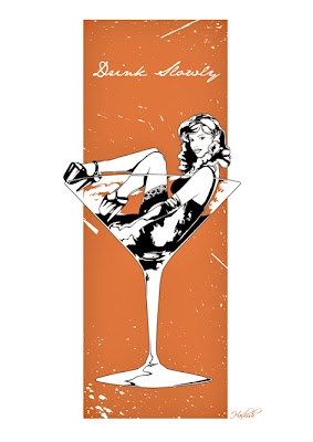 Harijs Grundmanis pin up martini