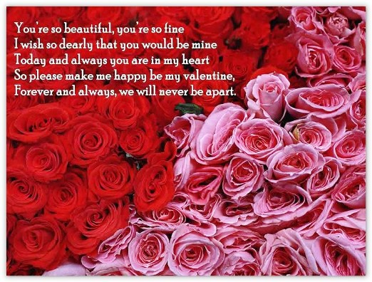 ImagesList Romantic Valentines Quotes 2 – Romantic Valentine Card Sayings