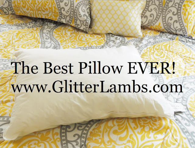 "The Best Pillow EVER! Review by Glitter Lambs ""Candlewood Suites Pillows"" Restfulnights.com"