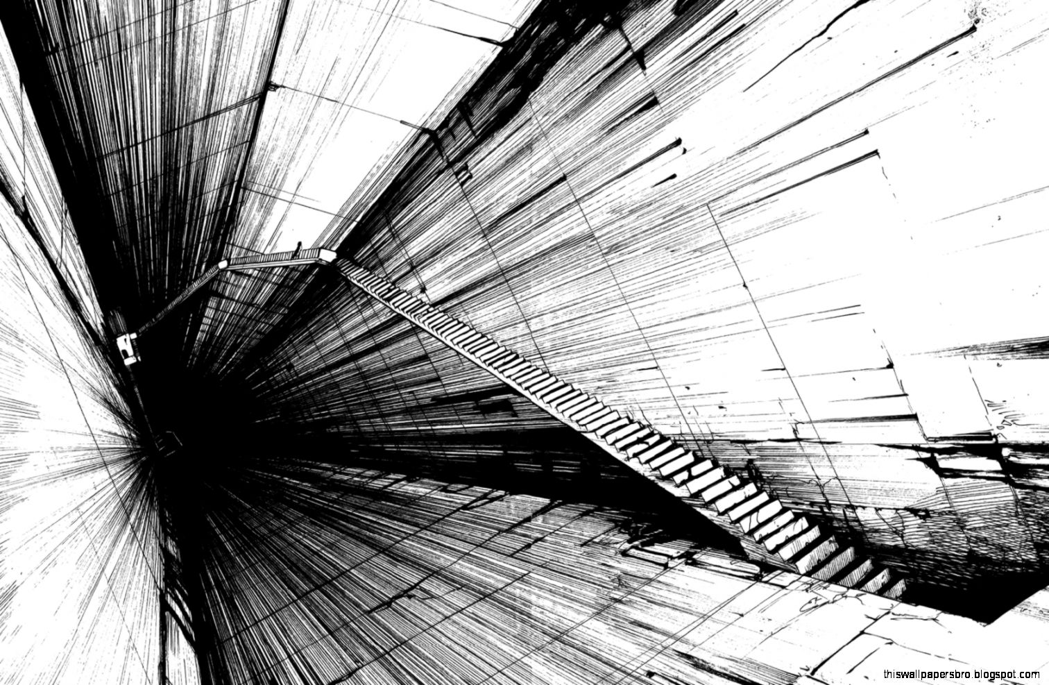 Abstract 3d grey abstract black this wallpapers for Black and white 3d wallpaper