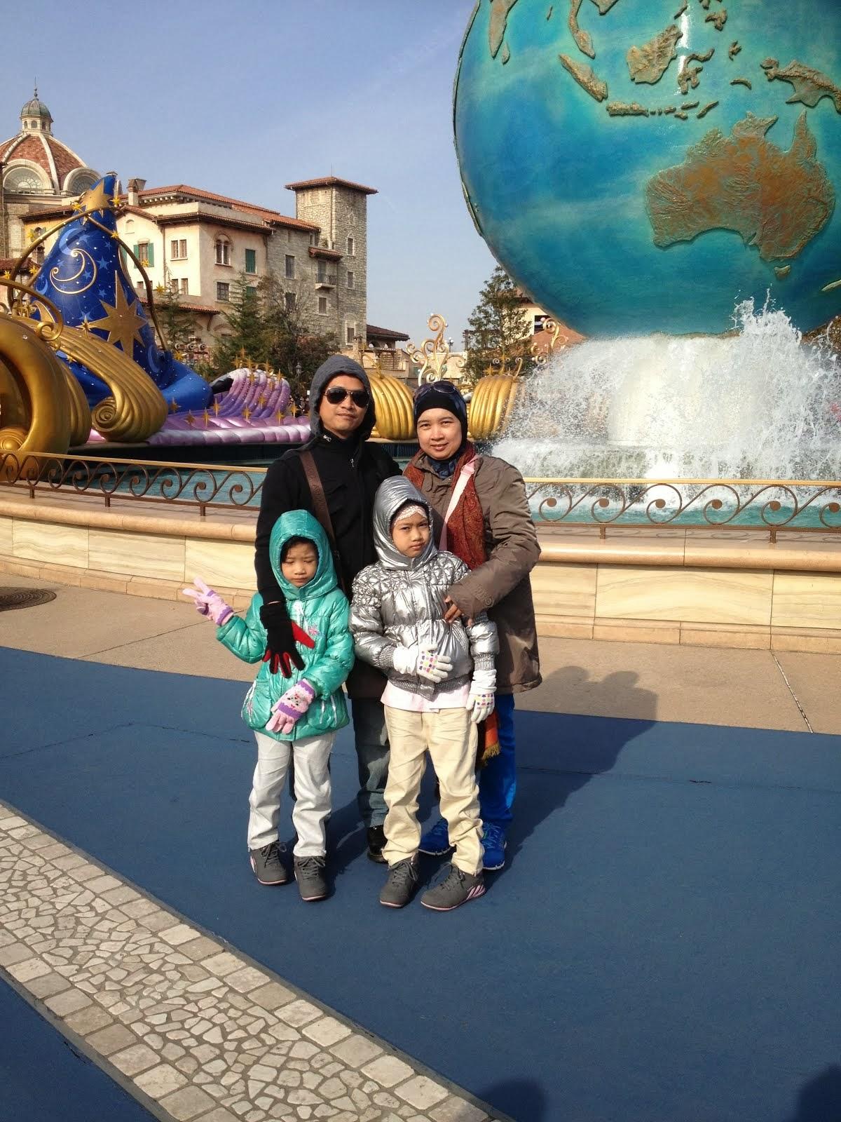 ~Holiday : Disneysea, Tokyo,Feb'14