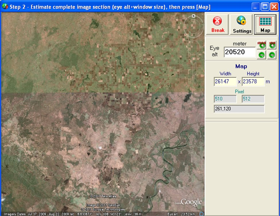 how to download dem data from google earth