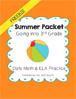https://www.teacherspayteachers.com/Product/Freebie-Summer-Packet-Going-into-3rd-Grade-1256826