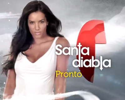 """Telemundo empieza a promocionar """"Santa Diabla"""""""