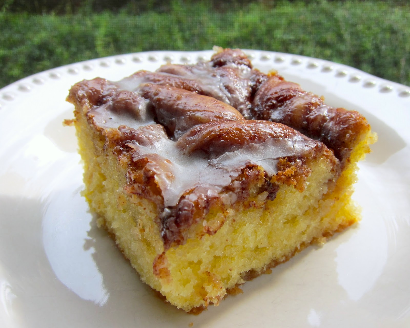 Spice Cake Mix Coffee Cake