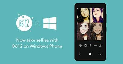 LINE, the world's leading life platform, launches B612 - Selfie Camera App on Windows Phone