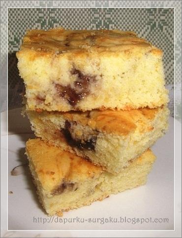Resep Cake Keju, Cake Tanpa Pengembang Tambahan, Cake Tanpa Margarin Dan Mentega, Blueberry Cheese Cake
