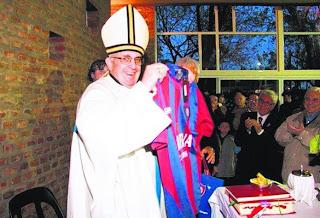 Kardinal Jorge Mario Bergoglio dari Argentina kelmarin sebagai Pope Gereja Katolik