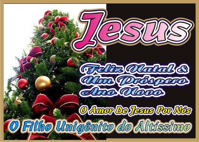 Aos Humanos Um Feliz Natal e Um Próspero Ano Novo