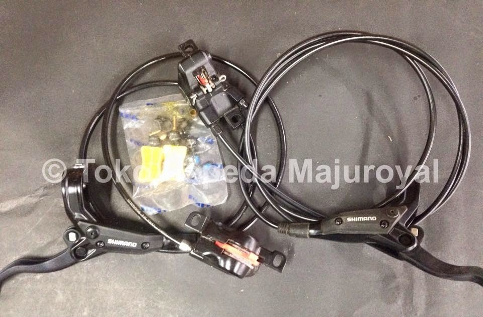 Brakeset hydraulic Shimano M-447