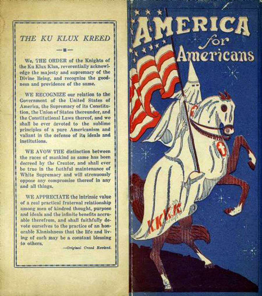 the klan s fight for americanism The klans fight for americanism summary hiram wesley evans the klan s fight for americanism essays and research papers in the article the klans fight for americanism.
