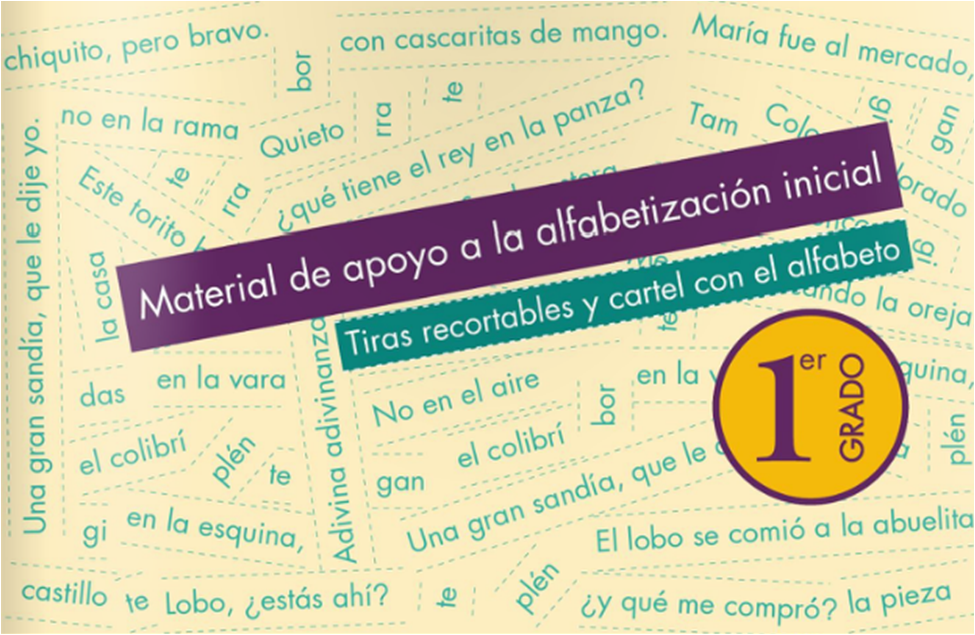 Consultar Español Tiras Primer Grado 2014 - 2015