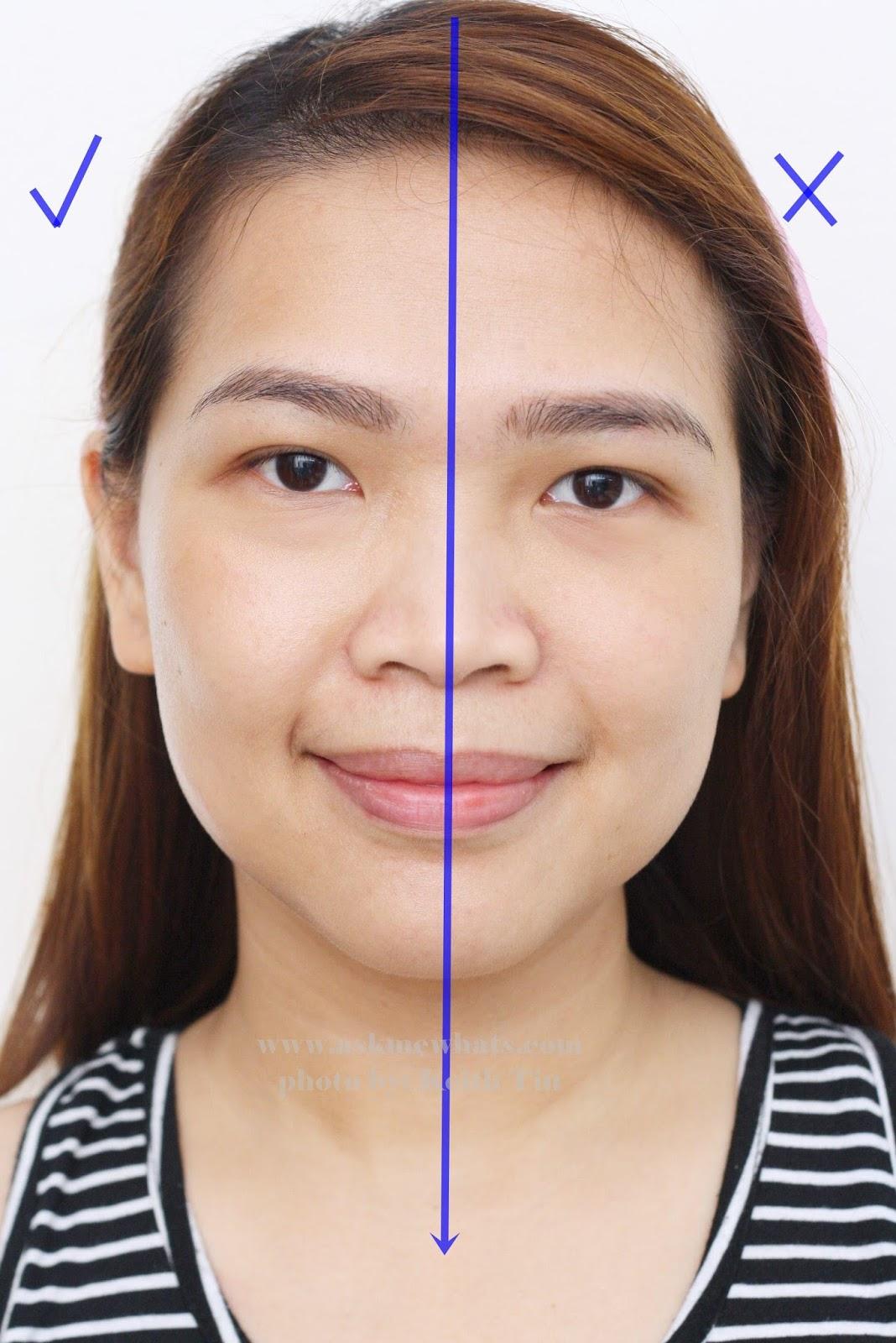 shiseido foundation test