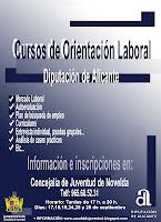 Ayuntamiento de Novelda cartel+curso+diputacion_con+horarios CURSO DE ORIENTACIÓN LABORAL