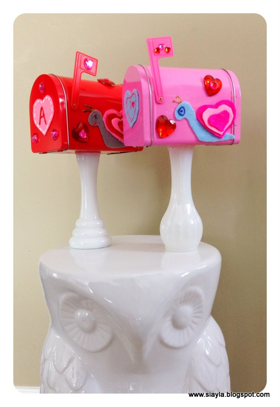 imagination station  diy valentine snail mail boxes for love notes
