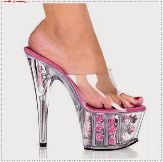 Rosa Schuh Modelle