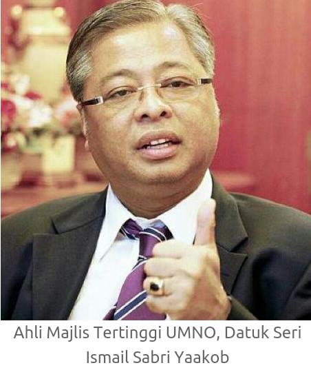 Hudud Pemimpin kanan UMNO Ismail Sabri Ahmad Shabery Cheek kecam tindakan MCA Gerakan