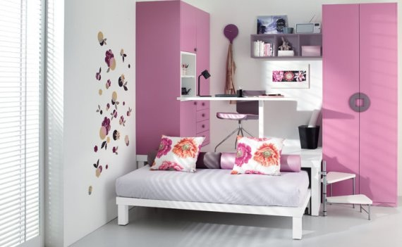Dormitorios Juveniles Modernos Para Mujeres. Cool Dormitorios ...