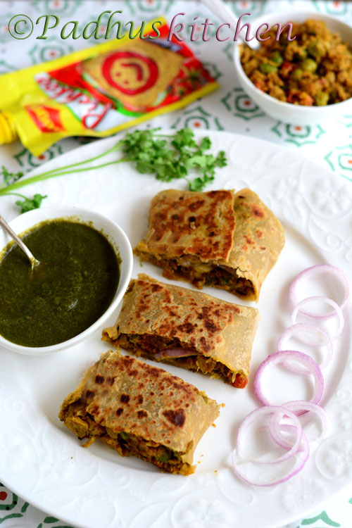 Soya kheema rolls soya keema wrap recipe soya chunks recipes soya keema wrap recipe forumfinder Gallery