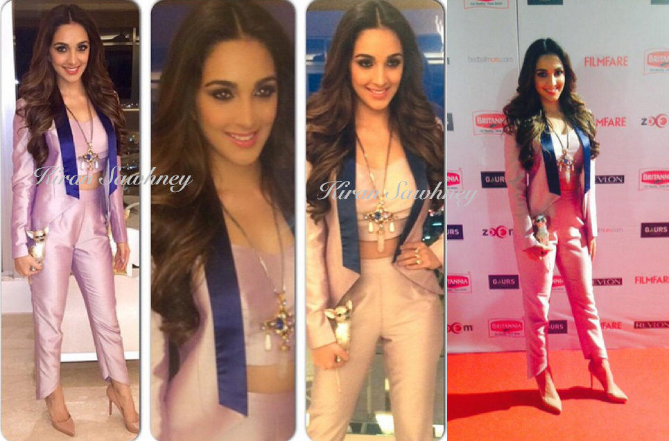 Kiara Advani at Filmfare Pre-Awards Party 2015 in The Circus