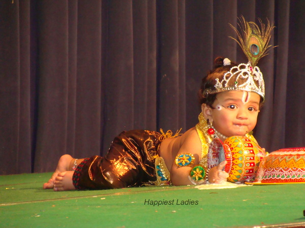 Krishna with curds
