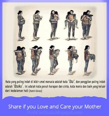 kata mutiara cinta untuk ibu