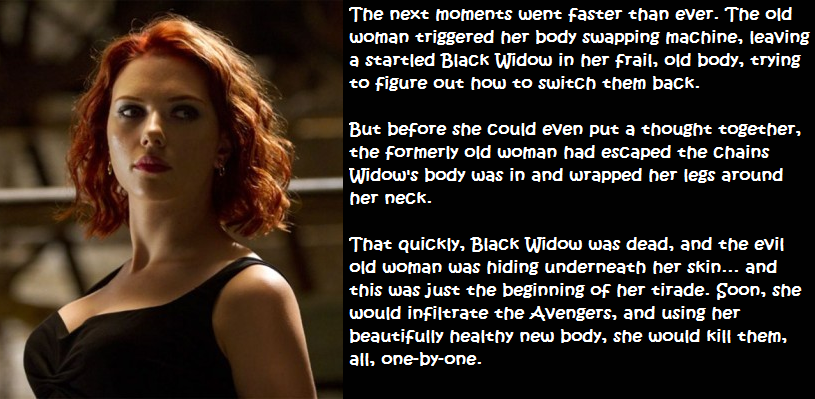Apologise, black widow porn captions something is
