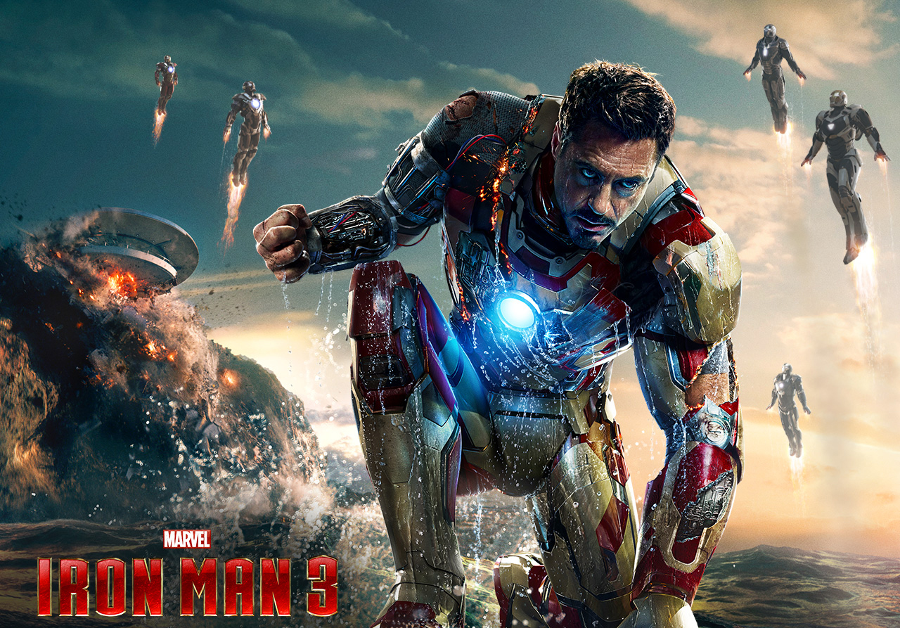 Iron Man 3: New Trailers & Character Posters