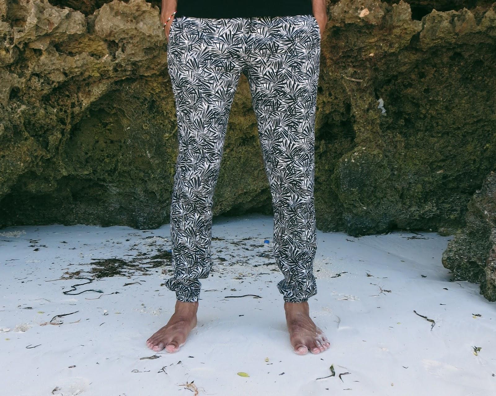 Salman Dean Zara Printed Trousers