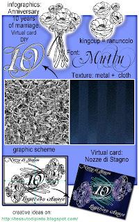 DIY: graphic scheme virtual card