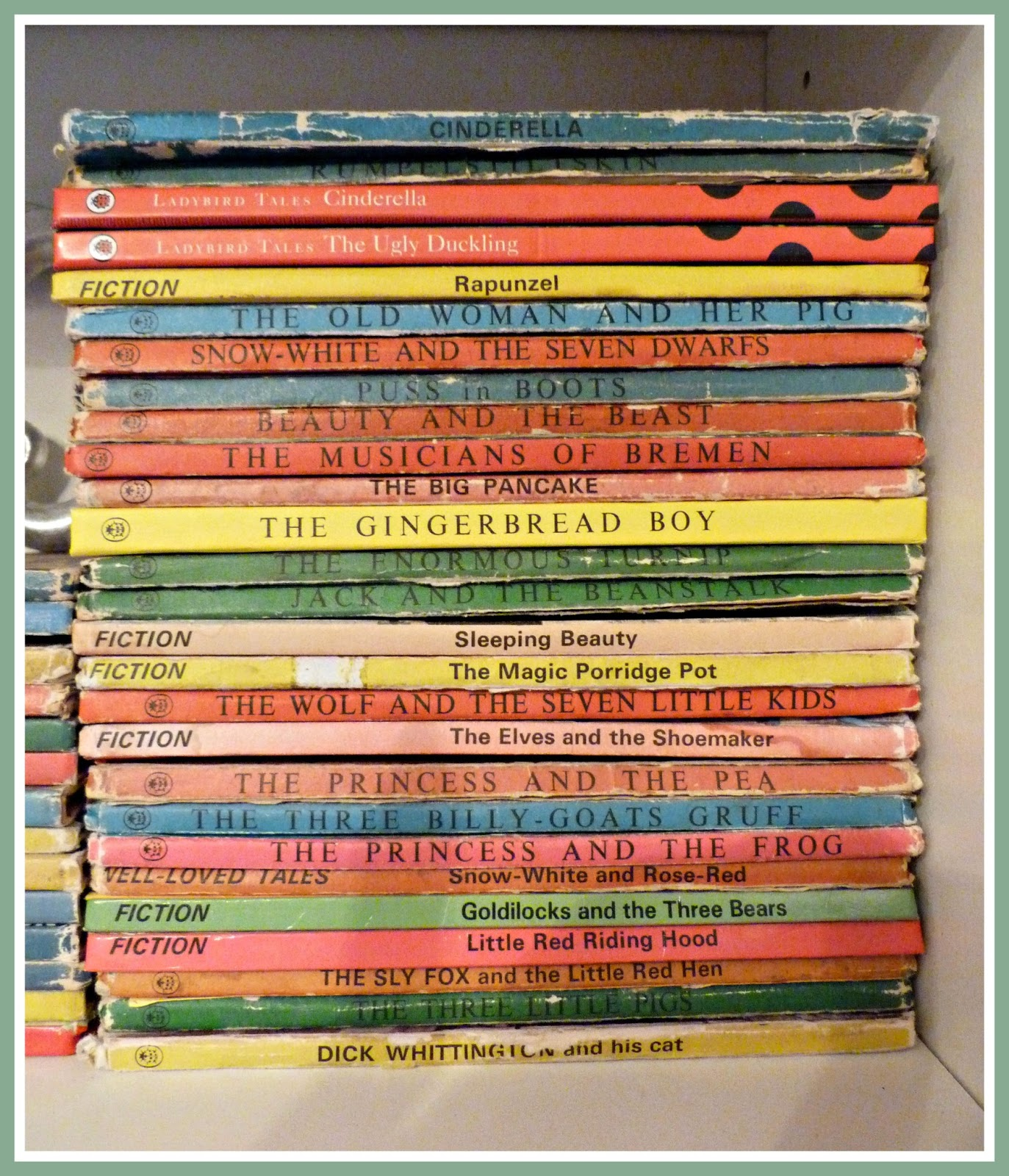 notSupermum: My collection of vintage Ladybird books