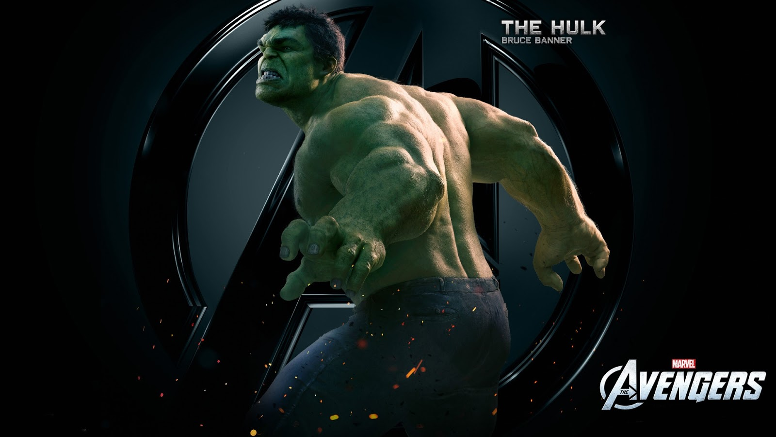 The Hulk Bruce Banner Avengers Wallpaper
