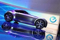 Um carro ecológico totalmente elétrico