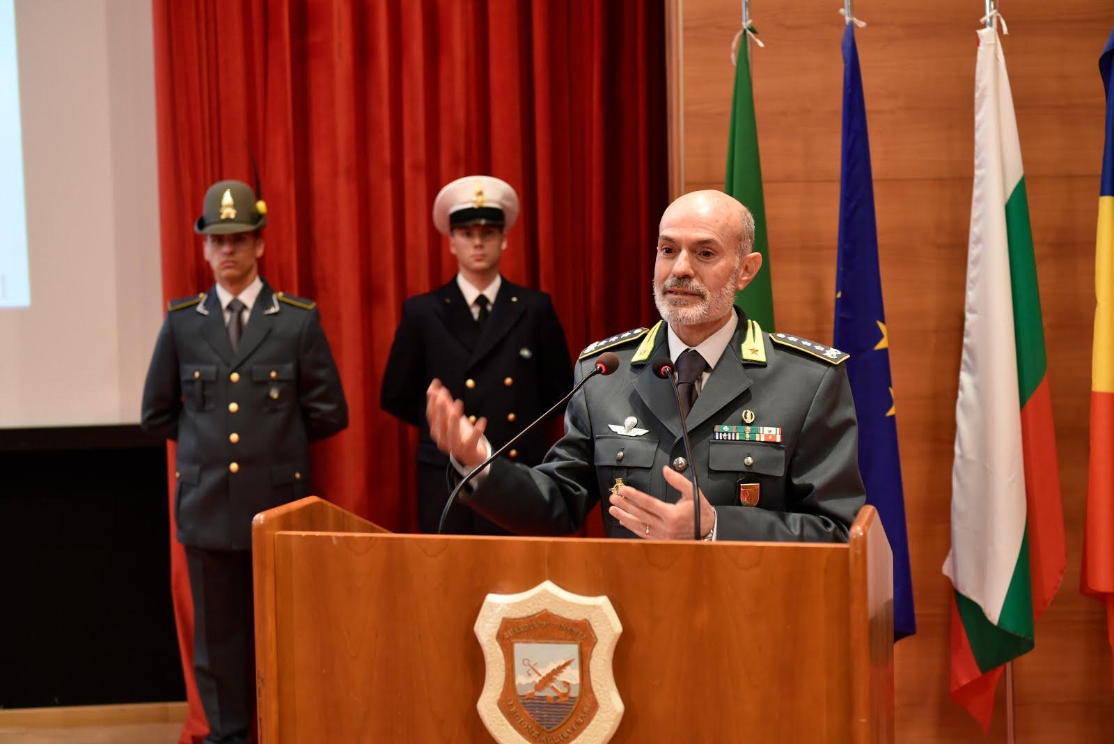 Intervento del Generale di Corpo d'Armata Dott. Carlo RICOZZI