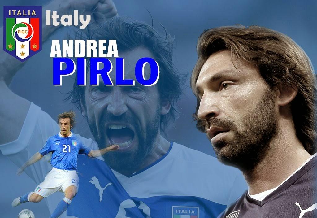 Wallpaper Andrea Pirlo