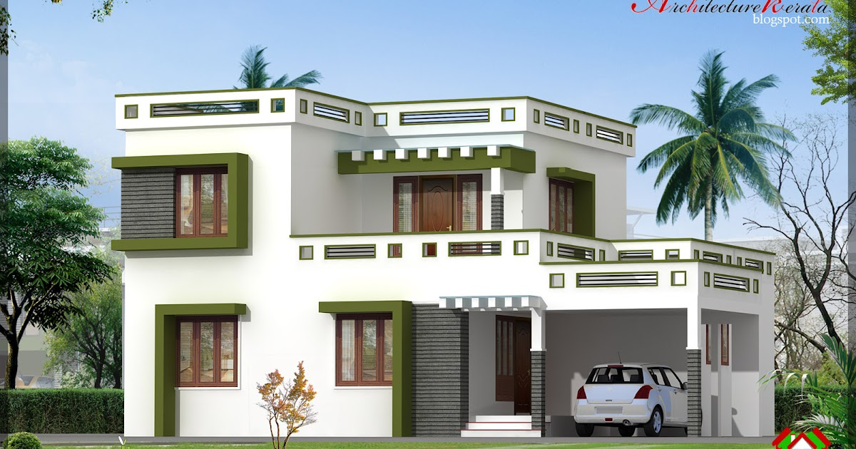 Architecture kerala 3 bhk new modern style kerala home for Home designs kerala architects