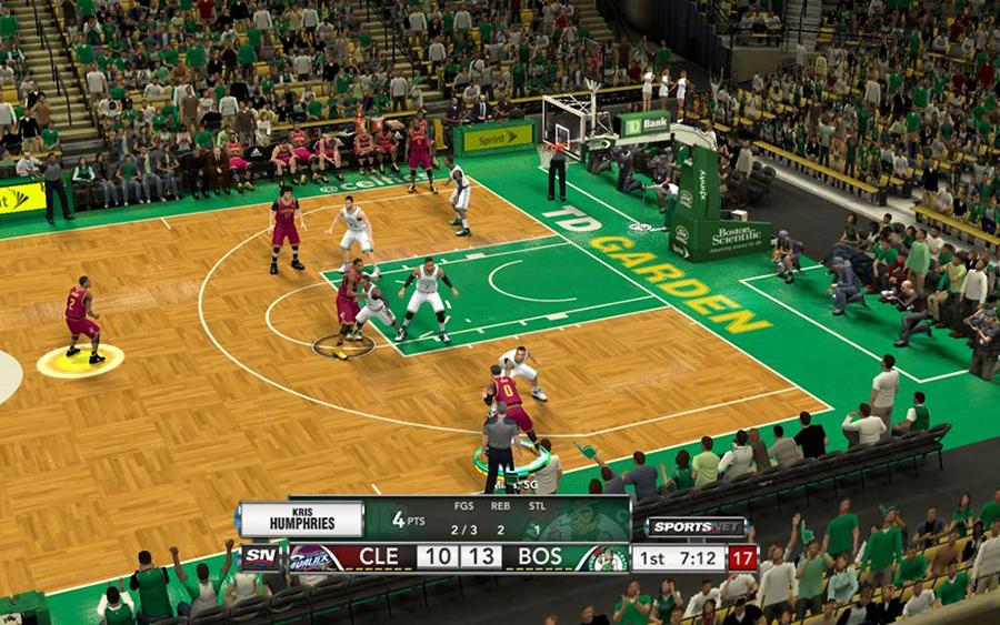 NBA 2K14 Scoreboard Patch