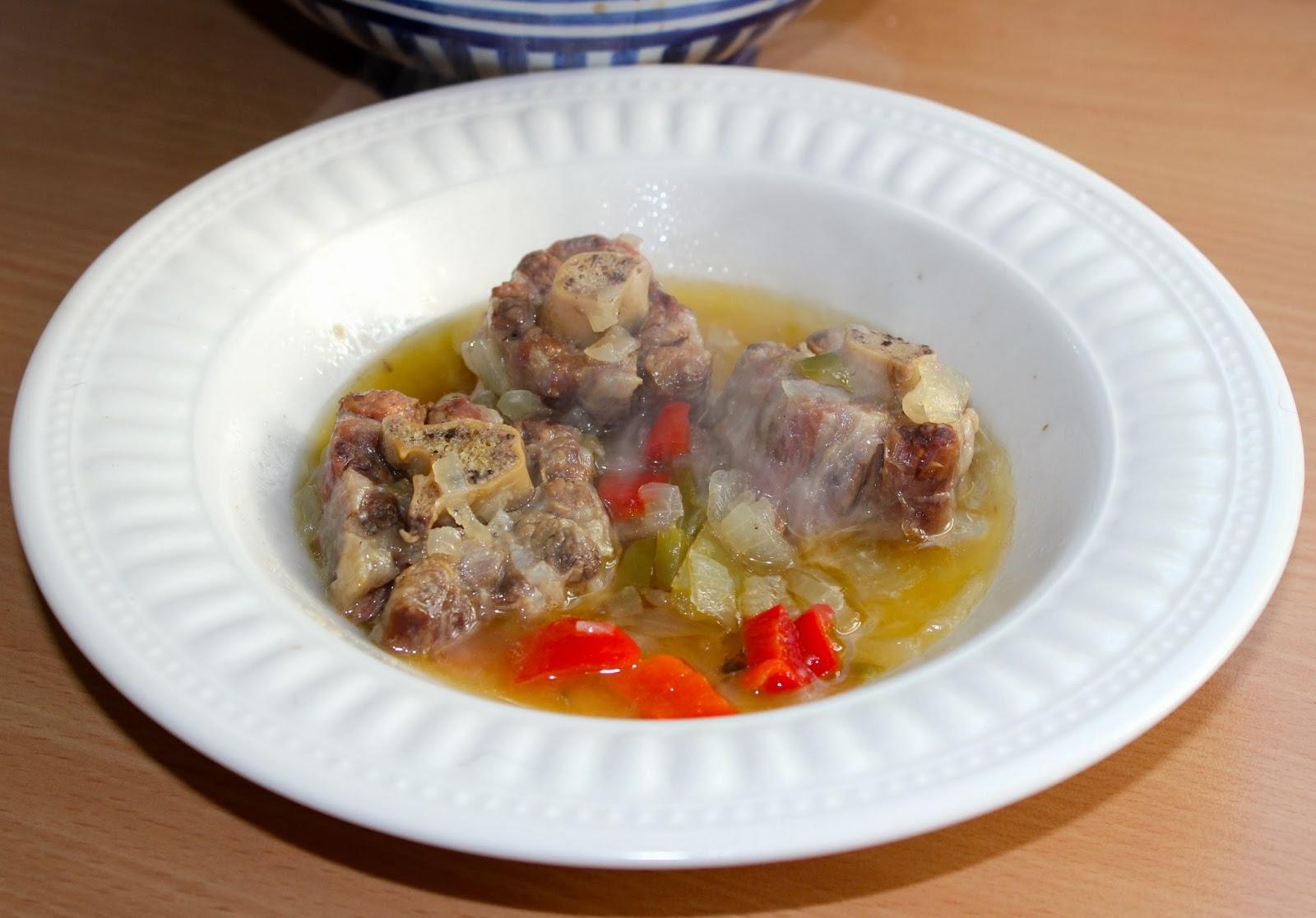 Cocinar es vivir y bordar tambi n rabo de ternera al vino - Cocinar rabo de ternera ...