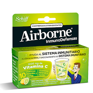 Airborne® comprimidos efervescentes com sabor a lima-limão