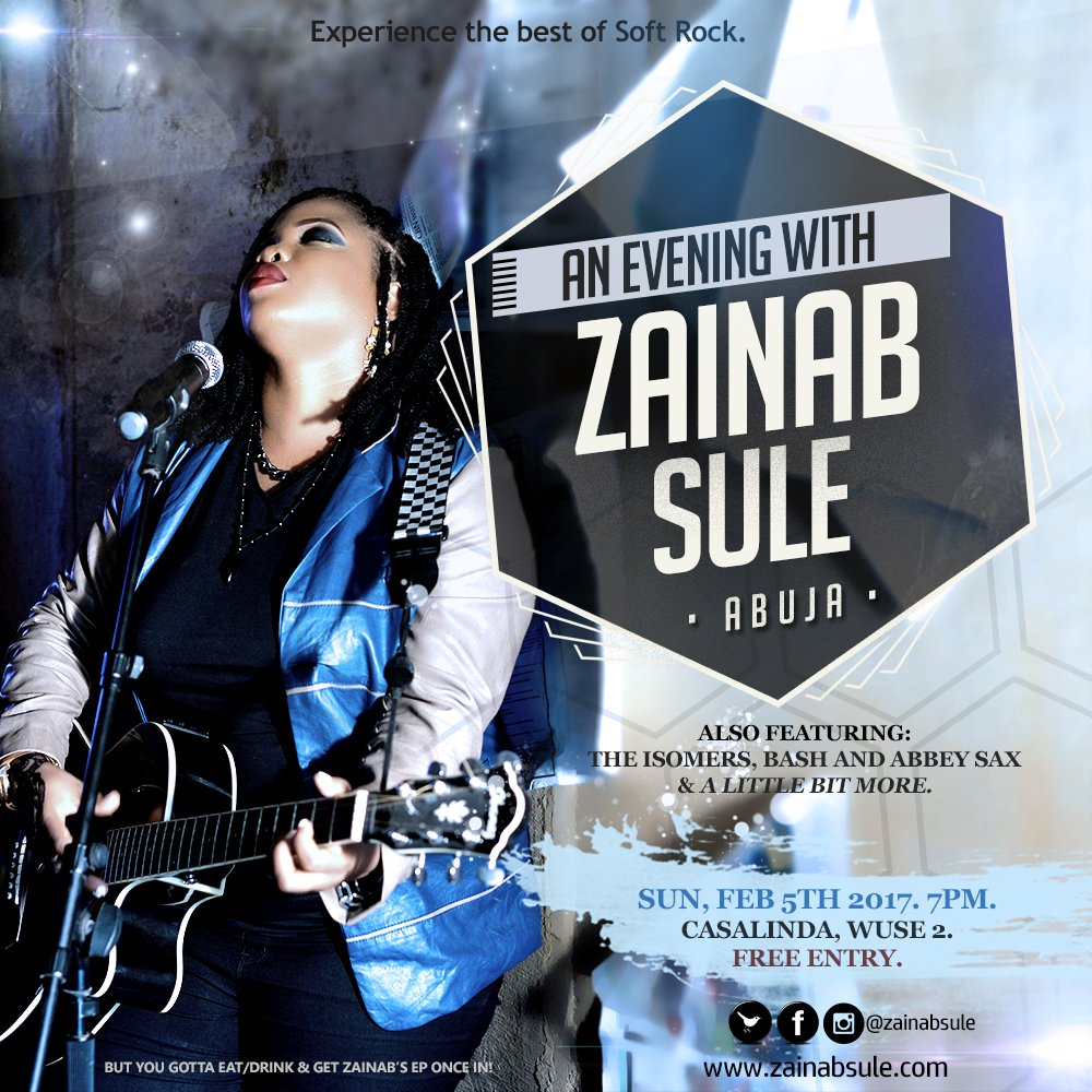 ZAINAB SULE LIVE IN CONCERT
