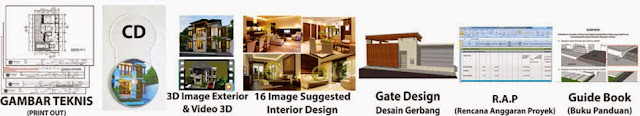Spesifikasi Layout Desain Arsitek Emporio House