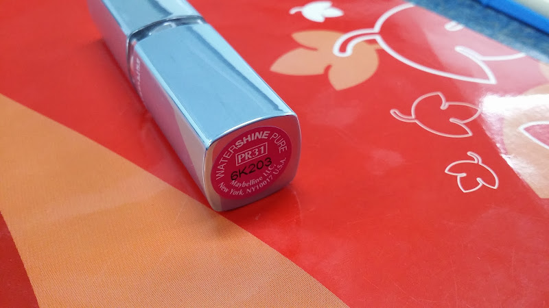lipstik watershine maybelline, lipstick, lipstick maybelline, harga lipstick maybelline, testimoni maybelline, tips make up, watson,