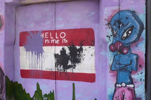 street art santiago de chile bellavista graffiti arte callejero