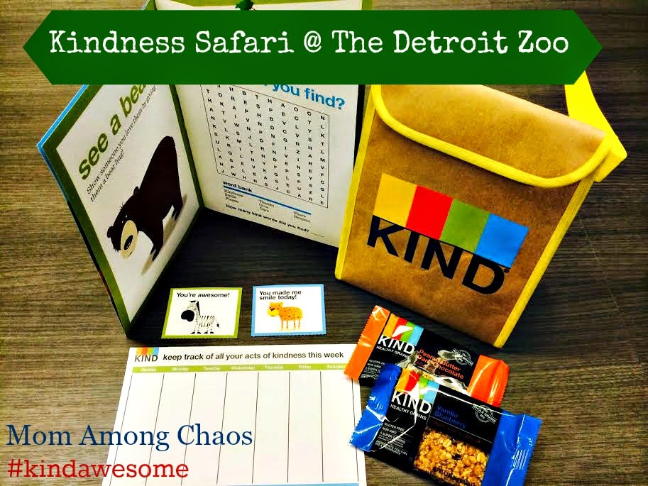 #kindawesome, zoo, KIND bars, healthy, giveaway, safari, Detroit Zoo, kind